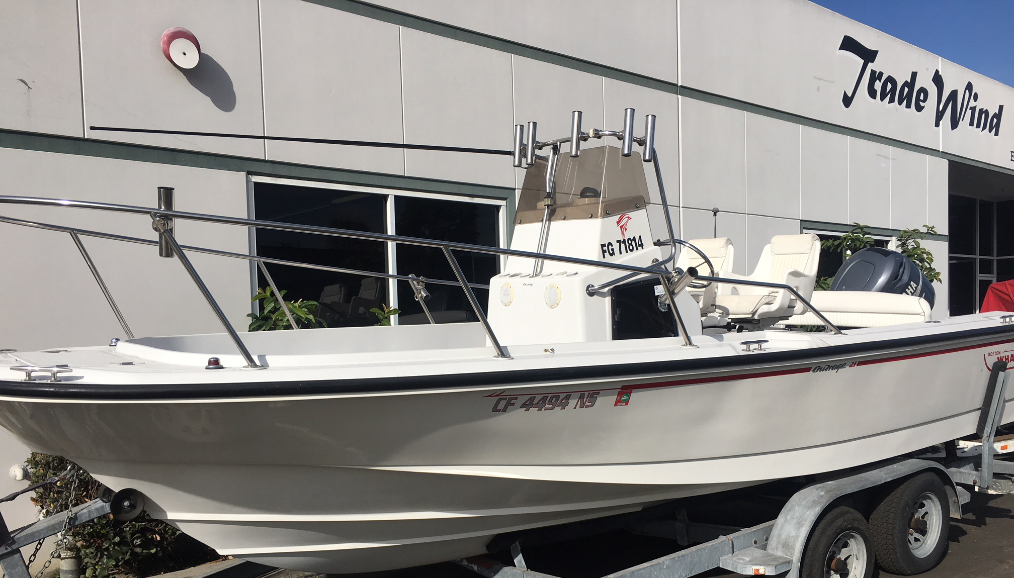 Trade Wind Inflatables | Boston Whaler